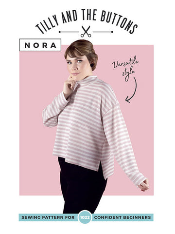 Tilly and the Buttons: Nora Top Sewing Pattern