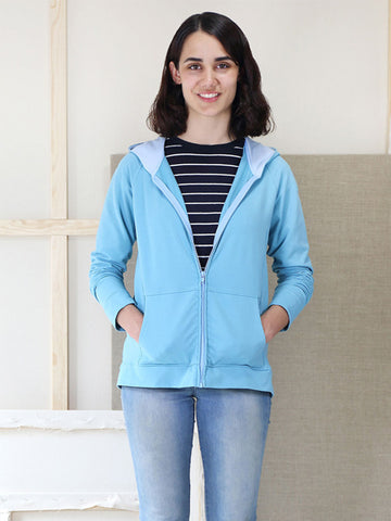 Liesl & Co. Neighbourhood Sweatshirt & Hoodie Sewing Pattern