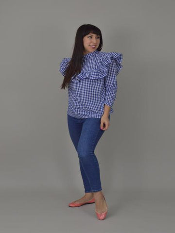 Nina Lee: Bloomsbury Blouse Sewing Pattern