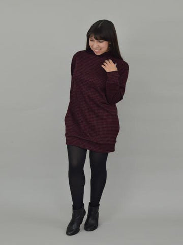 Nina Lee: Southbank Sweater Dress/Sweater Sewing Pattern