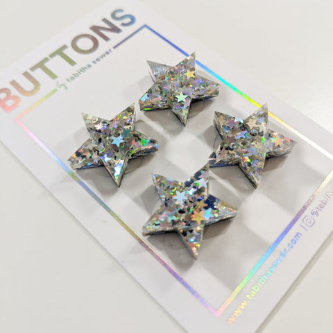 "Tabitha Sewer: Oh My Stars! Button 0.81""/20.5mm"