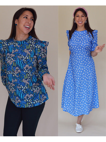 Nina Lee: Park Lane Dress/Top Sewing Pattern