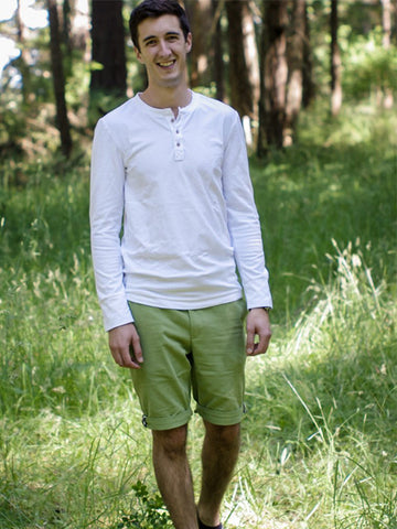 Thread Theory: Men's Strathcona Henley Sewing Pattern