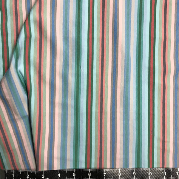 Pastel Multi Striped Mediumweight Jersey