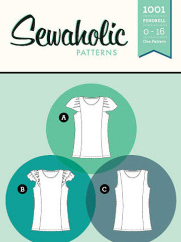 Sewaholic Patterns: 1001 Pendrell Top Sewing Pattern