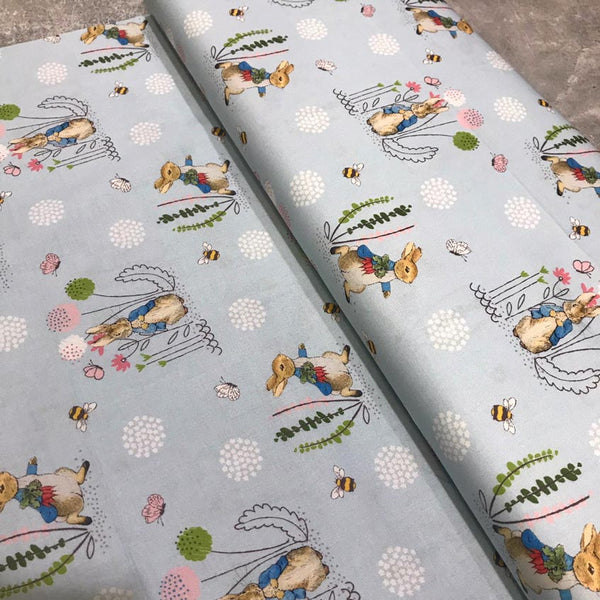 Craft Cotton Company: Peter Rabbit Fabric - Peter Rabbit