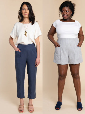 Closet Core Patterns: Pietra Shorts & Pants Sewing Pattern