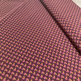 Purple Pearl Peach Polyester