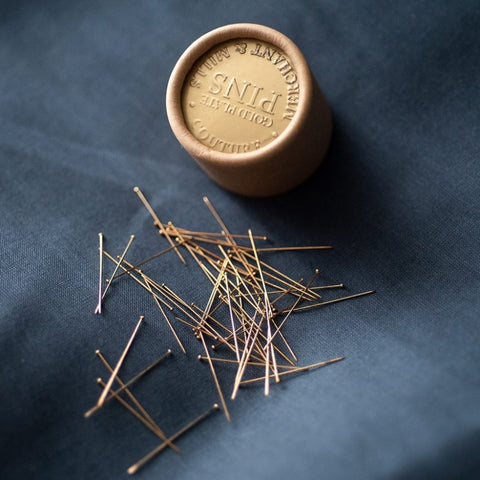 Merchant & Mills: Couture Gold Pins