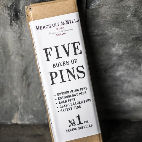 Merchant & Mills: Five Boxes of Pins