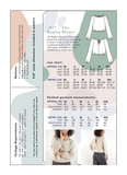 Friday Pattern Co. Raglan Blouse Sewing Pattern