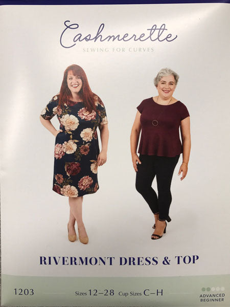 Cashmerette: Rivermont Dress & Top Sewing Pattern