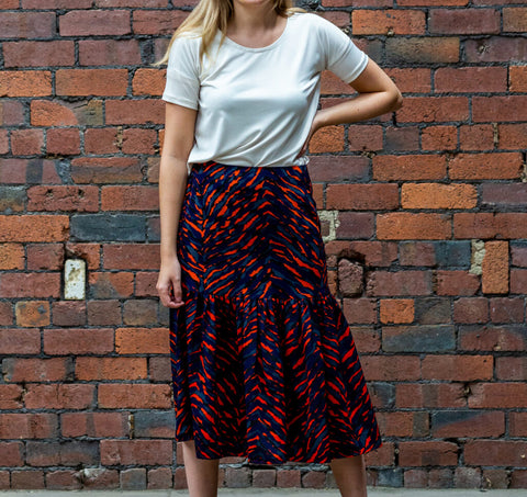 Size:Me: Florence Skirt Sewing Pattern