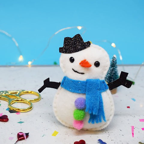 "The Make Arcade: ""Stan Snowman"" Christmas Bauble Sewing Kit"