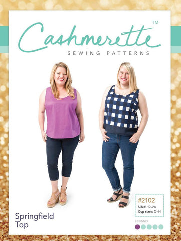 Cashmerette: Springfield Top Sewing Pattern