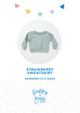 Poppy & Jazz by Sew Over It: Strawberry Sweatshirt Sewing Pattern