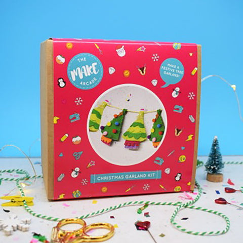 "The Make Arcade: ""Festive Forest"" Garland Craft Kit"
