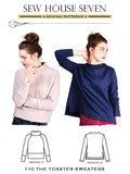 Sew House Seven: The Toaster Sweaters Sewing Pattern