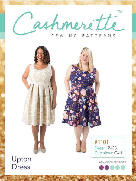 Cashmerette: Upton Dress Sewing Pattern