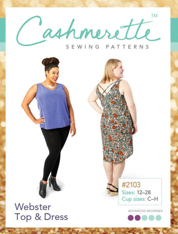 Cashmerette: Webster Top & Dress Sewing Pattern