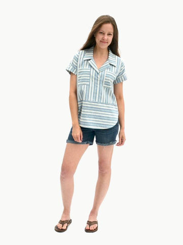 Hey June Handmade: The Williamette Shirt Sewing Pattern (PDF Only)