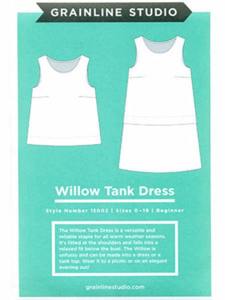 Grainline Studio: Willow Tank/Dress Sewing Pattern
