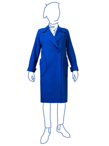 Alice & Co: Copenhagen Coat Sewing Pattern (PDF Only)