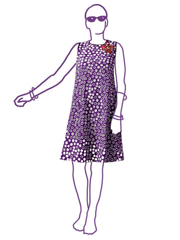 Alice & Co: Komodo Triangle Dress Sewing Pattern (PDF Only)