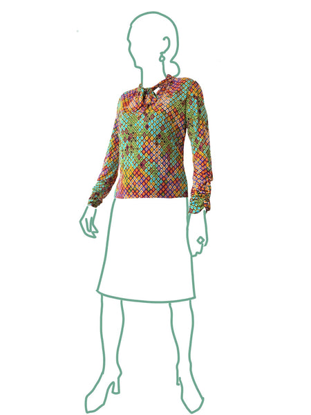 Alice & Co: Senorita Blouse Sewing Pattern (PDF Only)