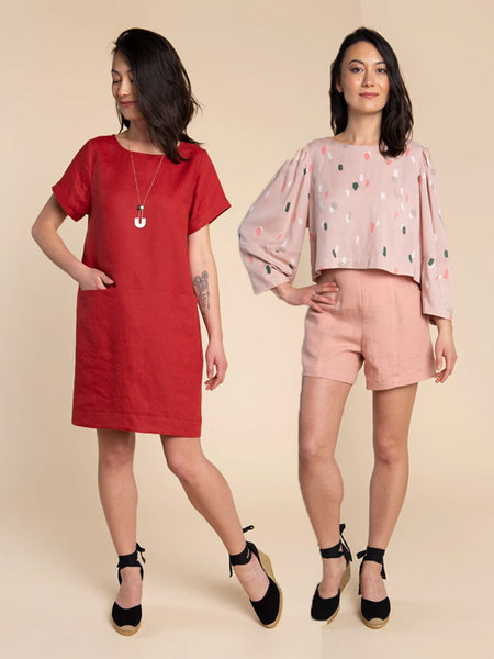 Closet Core Patterns: Cielo Top & Dress Sewing Pattern