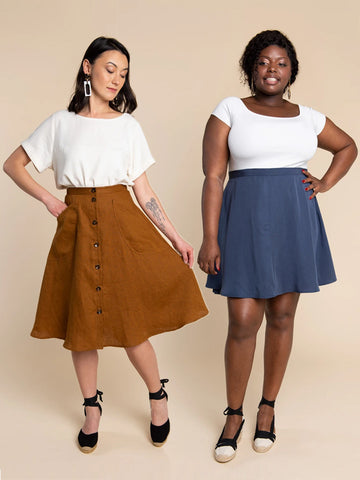 Closet Core Patterns: Fiore Skirt Sewing Pattern