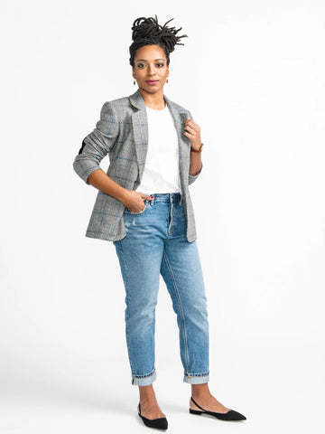 Closet Case Patterns: Jasika Blazer Sewing Pattern