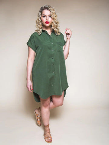 Closet Case Patterns: Kalle Shirt/Shirt Dress