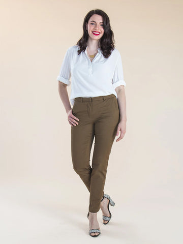 Closet Case Patterns: Sasha Trousers Sewing Pattern