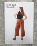True Bias: Emerson Pant & Short Sewing Pattern