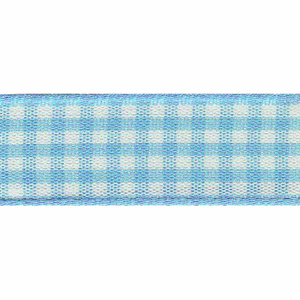 Gingham Ribbon: 25mm (4 Colours Available)