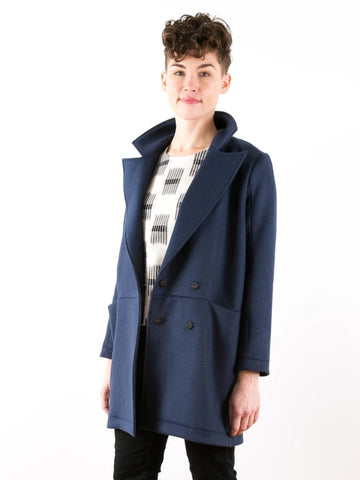 Grainline Studio: Yates Coat Sewing Pattern