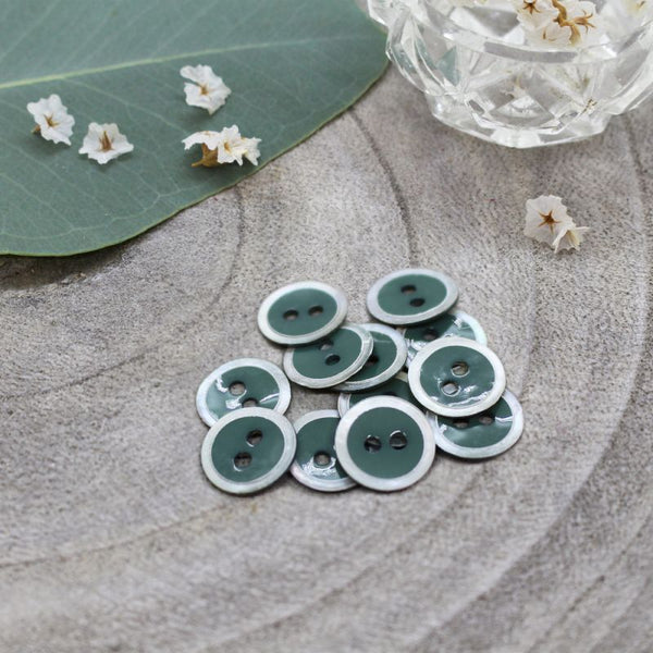 Atelier Brunette Halo Buttons Cactus 10mm