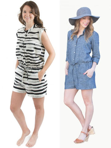 Hey June Handmade: The Sanibel Dress & Romper Sewing Pattern (PDF Only)