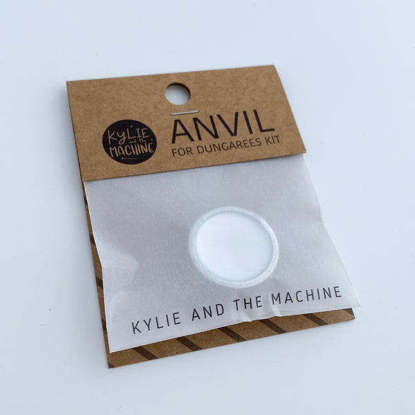 Kylie and the Machine: Anvil for use with Dungarees Hardware Kit