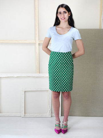 Liesl & Co. Extra Sharp Pencil Skirt Sewing Pattern