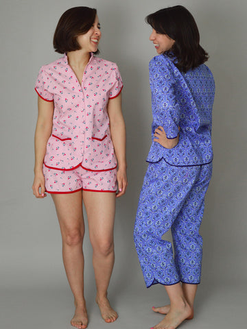 Nina Lee: Piccadilly Pyjamas Sewing Pattern