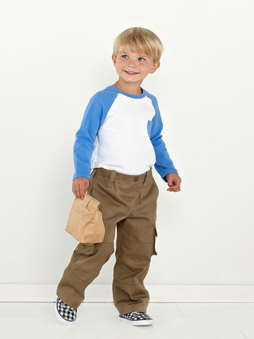 Oliver + S: Field Trip Cargo Pants & Raglan T Shirt Sewing Pattern