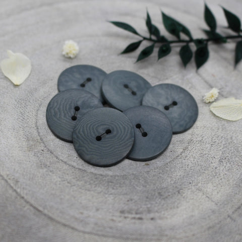 Atelier Brunette Palm Buttons Smokey 20mm