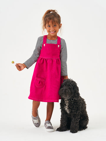 Poppy & Jazz by Sew Over It: Willow Pinafore Sewing Pattern