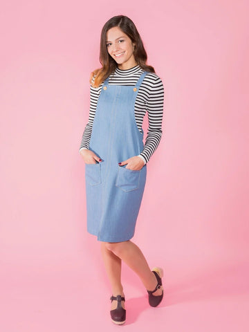 Tilly and the Buttons: Cleo - Pinafore and Dungaree Dress Sewing Pattern