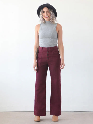 True Bias: Lander Pant & Short Sewing Pattern