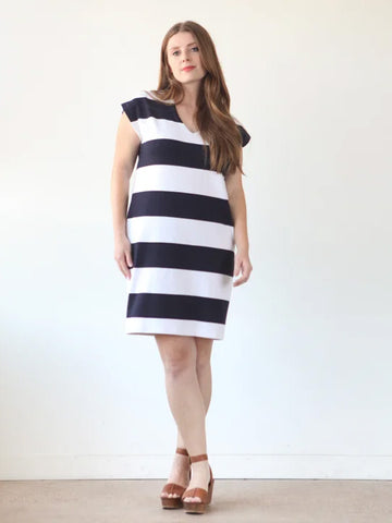 True Bias: Lodo Dress Sewing Pattern