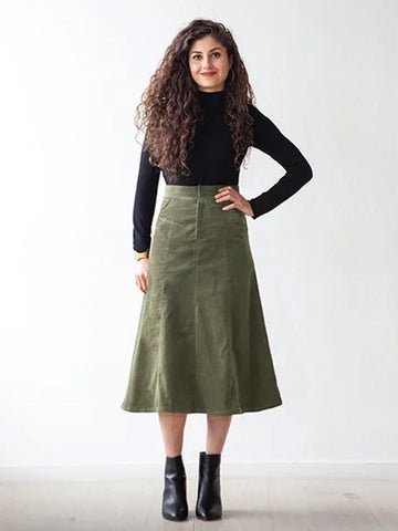 True Bias: Salida Skirt Sewing Pattern