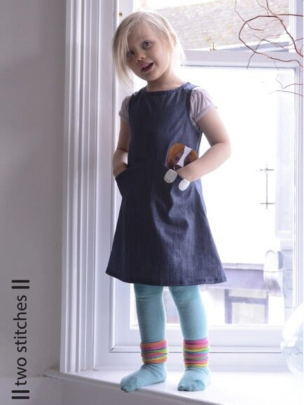 Two Stitches: Zoe Dress Sewing Pattern